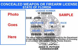 Concealed Weapon License