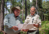 Photo:Landowner and Forestry Staff