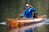 Photo:Man Canoeing