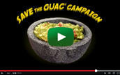 Watch the Save the Guac PSA