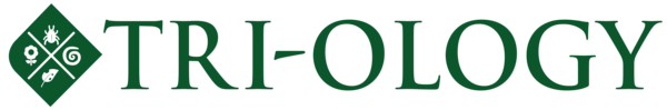 Triology Icon Square with text Green