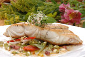 Baked Florida Grouper with Lime Cilantro Butter