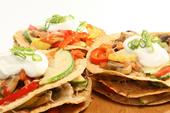 Baked Vegetable Tortilla Towers