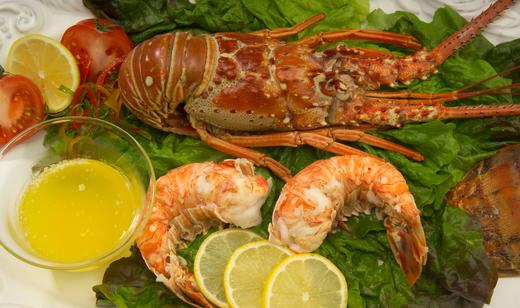 Boiled Florida Spiny Lobster