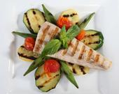 Char-Grilled Florida Mahi -Mahi with Vegetables
