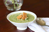 Florida Broccoli and Avocado Soup