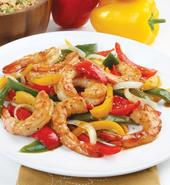 Florida Gulf Shrimp and Sweet Pepper Stir-Fry