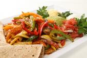 Florida Sweet Pepper Fajitas