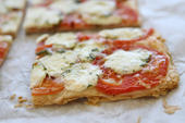 Florida Tomato and Mozzarella Phyllo Tart