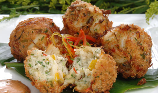 Blue Crab Fritters