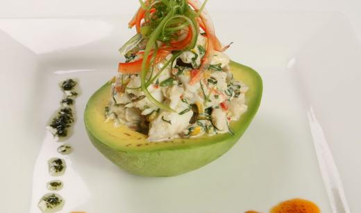 Florida Blue Crab Salad With Avocado