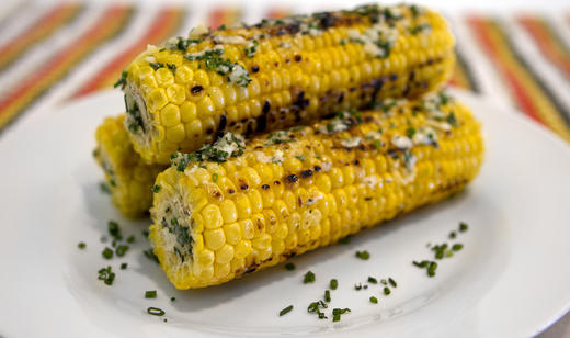 Garlic and Herb Florida Sweet Corn
