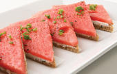 Open Face Watermelon Sandwiches