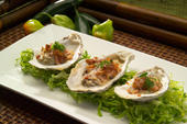 Spicy Jalapeno Bacon and Cheese Oysters